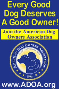 Join the American Dog Owners Association