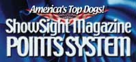 America's Top Dogs! ShowSight Magazine Points System