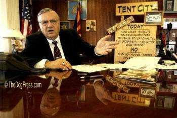 "SHERIFF JOE ARPAIO ""VOTED"" MOST POPULAR YEAR AFTER YEAR"
