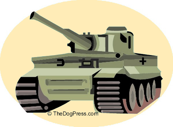 Heavy artillary used against the dog fancy over animal rights legislation